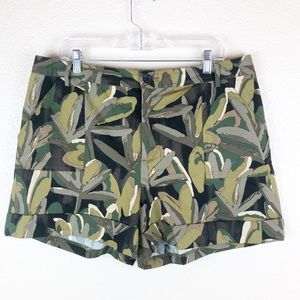 Who What Wear camo shorts